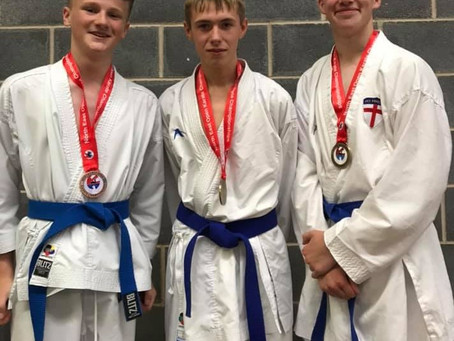York Karate squad shine at the North East Open Championships