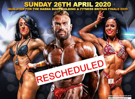 NABBA Northern Ireland 2020 Poster