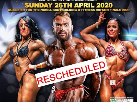 NABBA Northern Ireland 2020 Poster