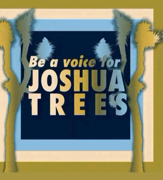 HOW YOU CAN HELP US HELP SAVE THE JOSHUA TREES.