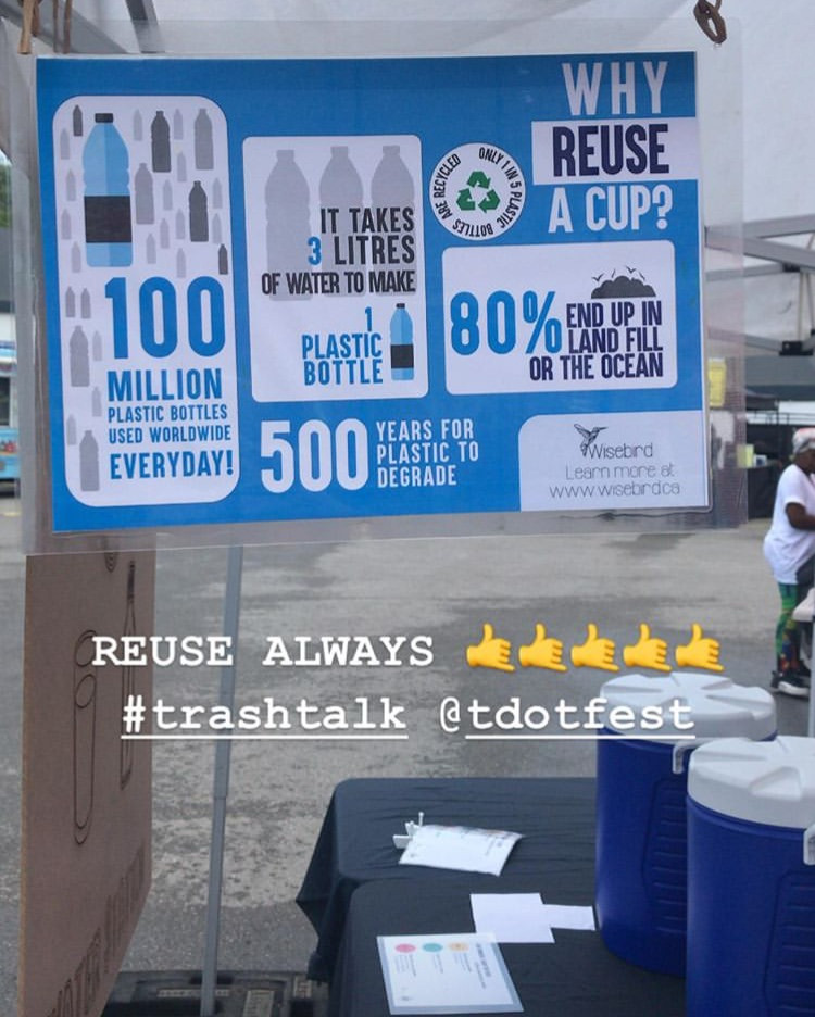 Single use plastic water bottles alternatives like reusable cups is a much better solution, brought to you by DreamZero and WiseBox