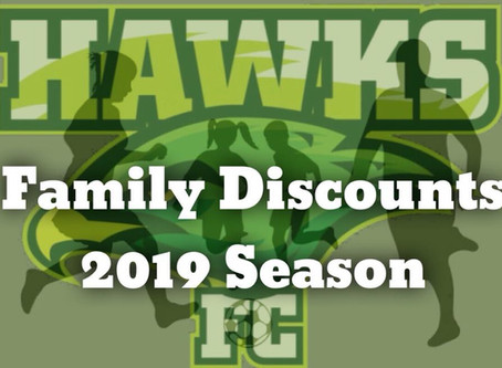 Hawks Announce Huge Family Discounts for 2019
