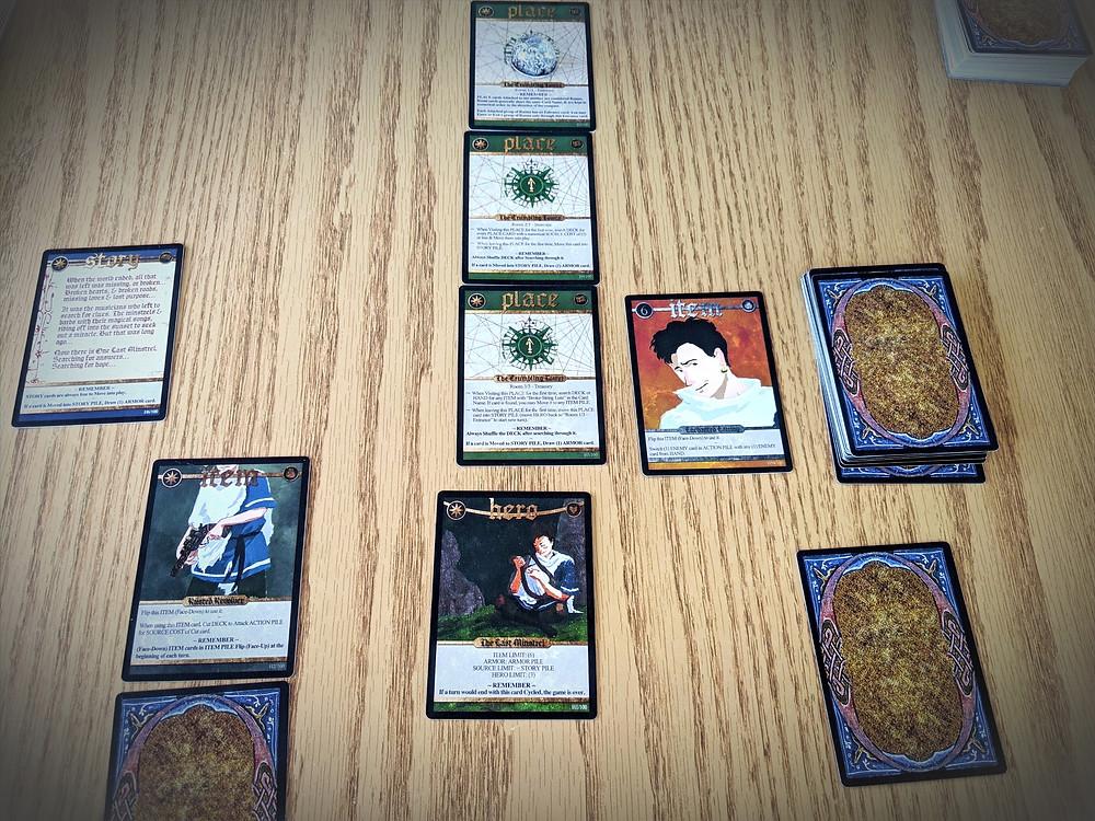 Spell Saga Card Setup
