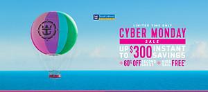 Cyber Monday sale Royal Caribbean