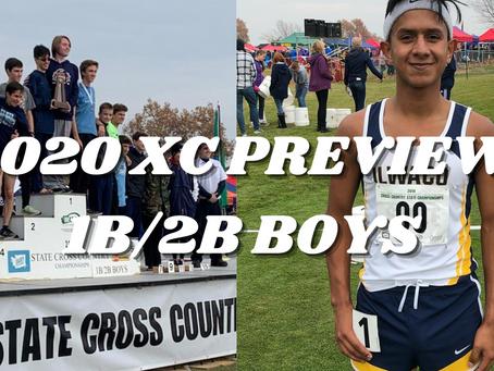 2020 XC Preview: 1B/2B Boys