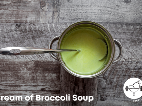 A Healthy Twist on Cream of Broccoli Soup