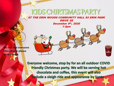 Kids Christmas Party Dec 5