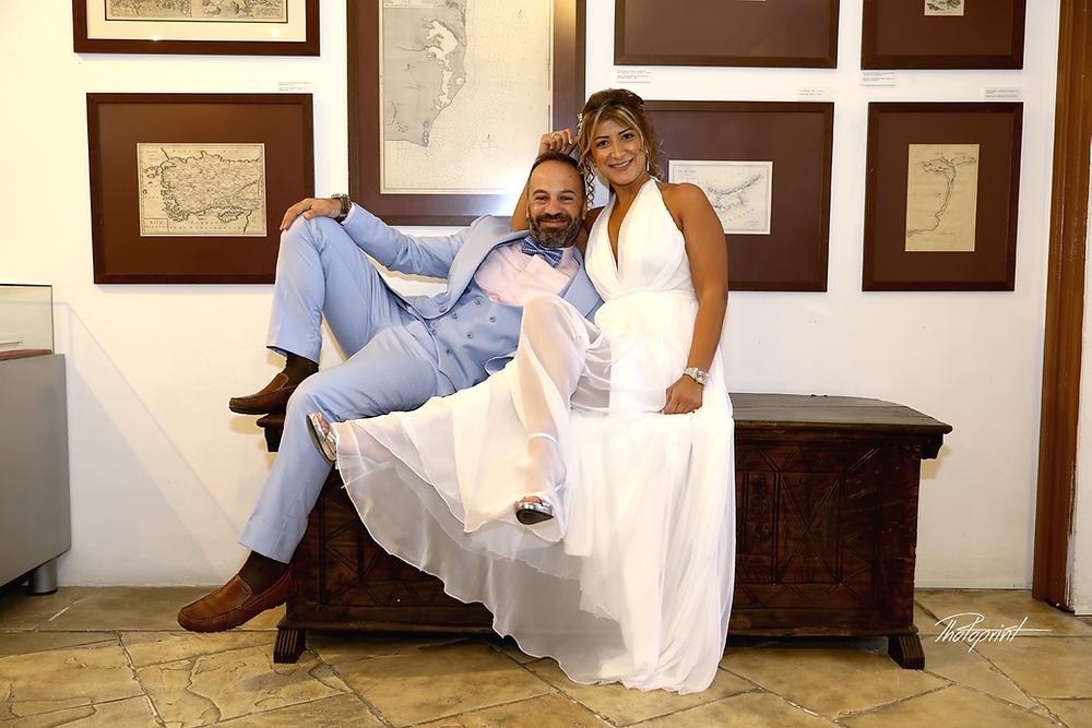 Farouk and Rawia's  Wedding  Photo Shooting at municipality of Larnaca - cyprus