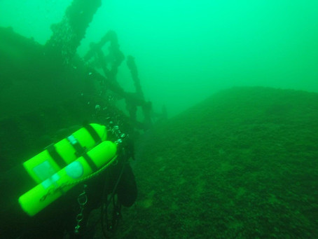 5/18 Diving Wreck's on Lake Michigan with Stillwater Diving