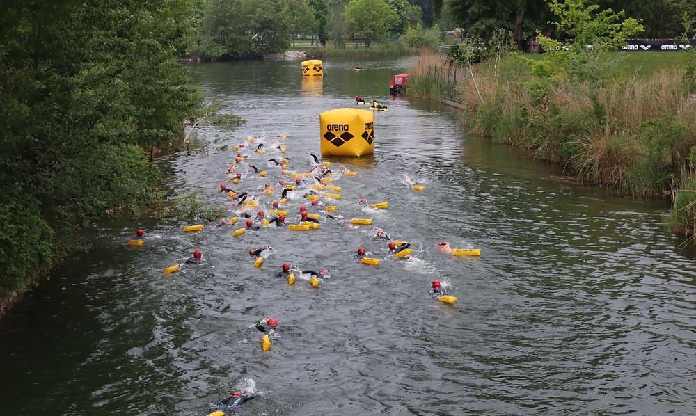 openwaterschwimmen schwimmen bojen