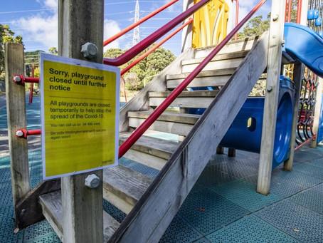 Coronavirus: Parents fight over playground closures