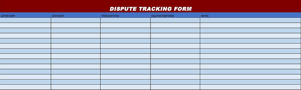 Tracking Form
