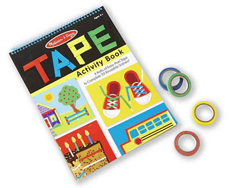 Tape Activity Book | San Diego Hotel Childcare