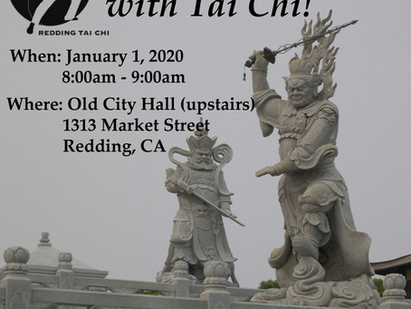 Join us for Tai Chi on New Year's Day