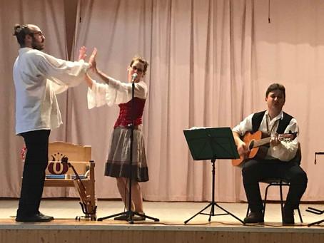 A Lóca együttes előadásán voltunk. (2018.)