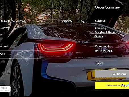 BMW i8 tune available!