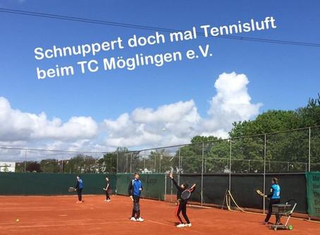 Schnupper doch mal Tennis