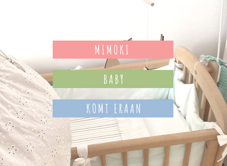 Een mimoki baby op komst - mindful zwanger