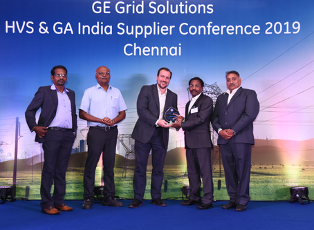 Raini wins award from GE for NEW PRODUCT DEVELOPMENT