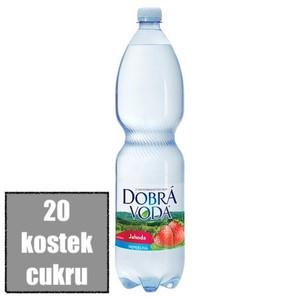 Dobrá voda jahoda obsah cukru
