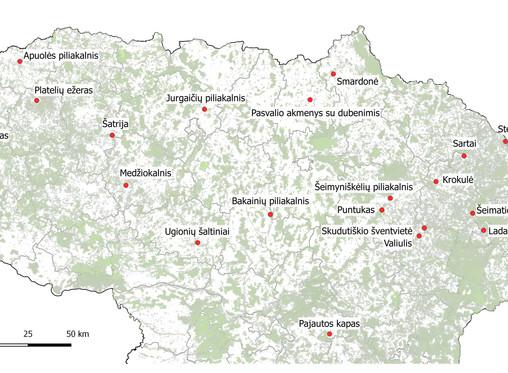 Kurios iš 864 baltų paveldo vietų Lietuvoje spindi ryškiausiai?
