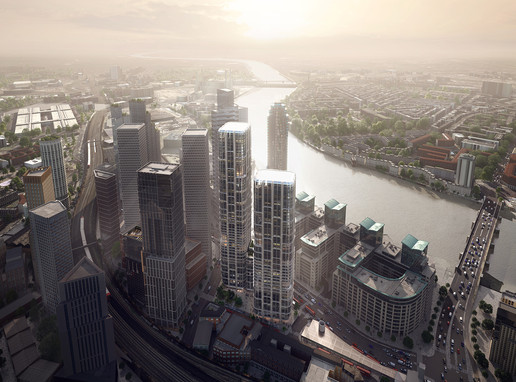 Zaha Hadid Architects' skyscraper receive approval in Vauxhall, London