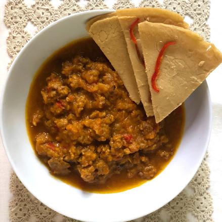 Kabocha Squash with Lamb Soup
