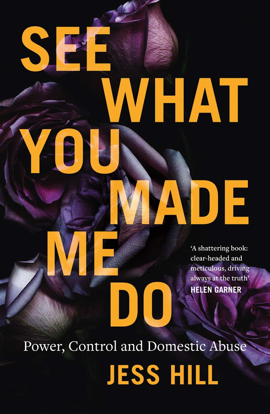 See What You Made Me Do by Jess Hill : the book slut book reviews thebookslut