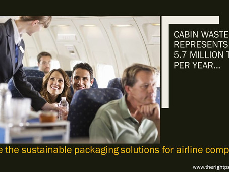 is plastic a sustainable solution to reduce  cabin waste ?