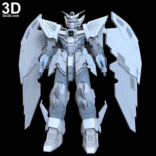 OZ-13MS Gundam Epyon Full Body Armor | 3D Model Project #1823