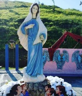 Imagem de Nossa Senhora Rainha da Paz no Santuário das Aparições de Jacareí - SP - Brasil