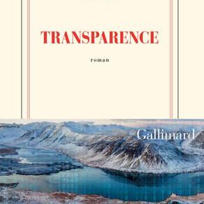 """Lecture : """"Transparence"""" de Marc Dugain"""