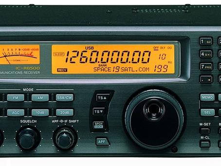 MANUAL - RADIO ICOM IC - R8500