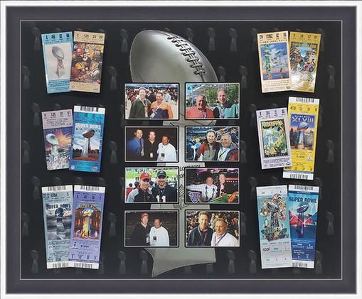 Super Bowl tickets framed.jpg