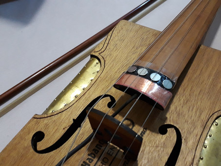 Magnetic flat-bow violin pickup