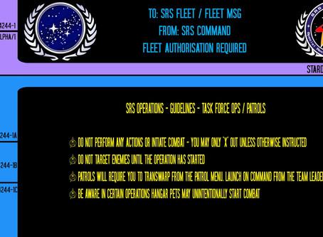 TFO & Patrol Etiquette