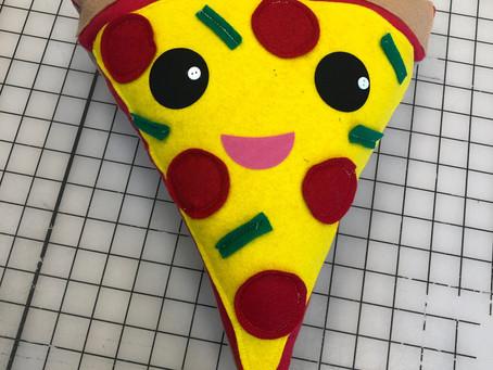 Pizza Plushie