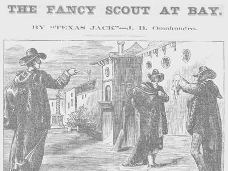 The Masked Duel; Or, The Fancy Scout at Bay