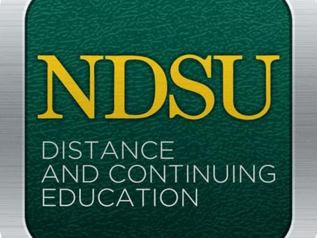 Professional NDSU Credit now LIVE!