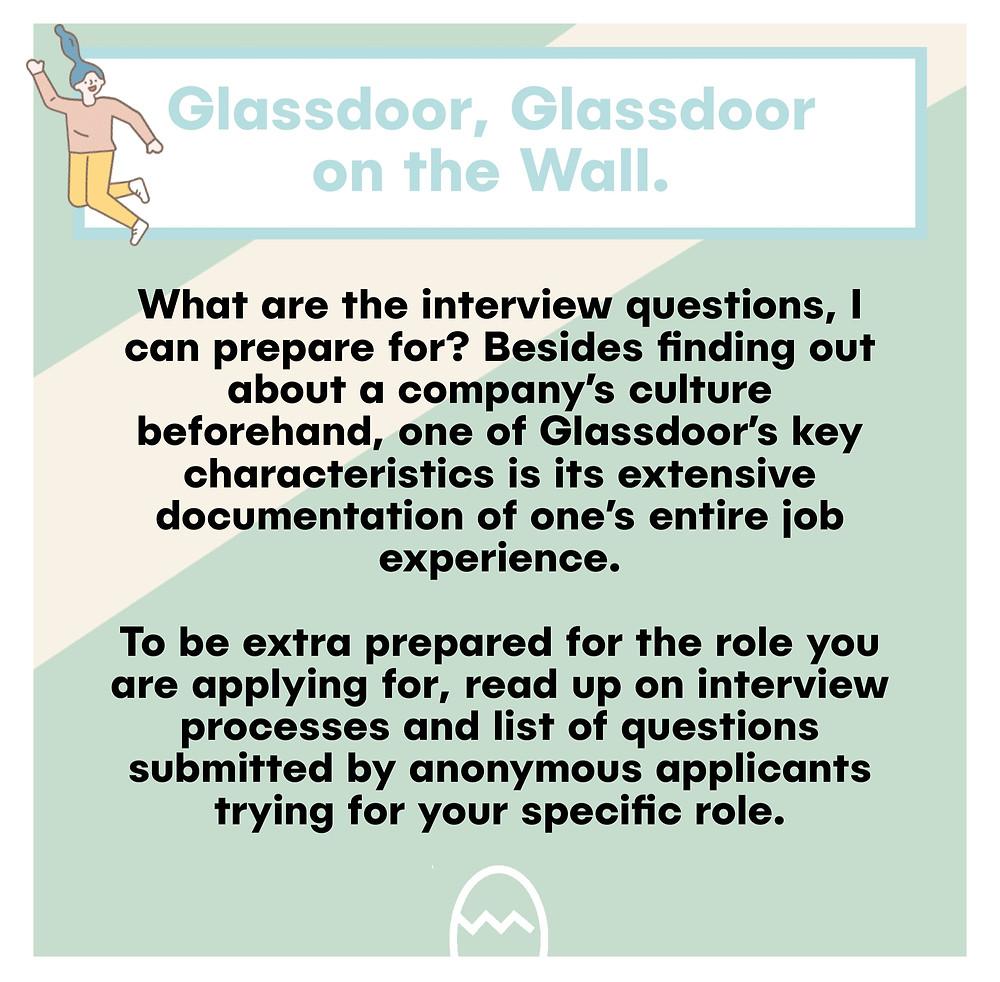 Glassdoor hacks for interview research