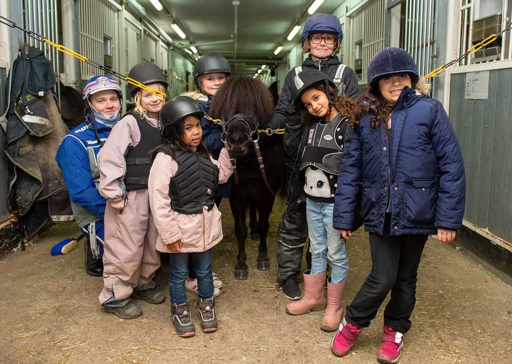 #hästfritids #jägersro #travskola