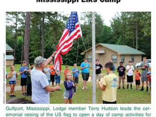 Elks Camp featured in Elks Magazine