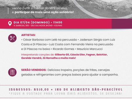 O Evento beneficente para o Vale do Jequitinhonha tem data definida. Será dia 07 de abril