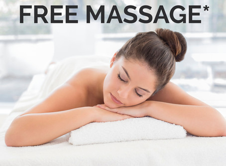 Buy 1 massage get 1 FREE*