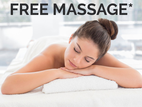 Buy 1 massage get 1 FREE*
