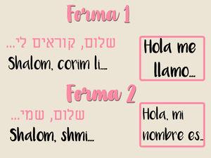 5 Frases En Hebreo Para Presentarte Fácil