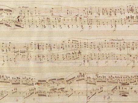 """Selección de los manuscritos """"Urtext"""" y partituras/ediciones que el compositor dejó más acabados"""