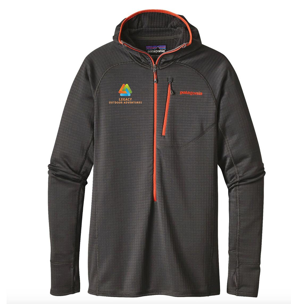 The Patagonia R1 Hoody is an optimal hooded midlayer for the full spectrum of Legacy Outdoor Adventures mountain adventures and endeavors, Christmas Gifts that support adventure all year long!  Patagonia R1
