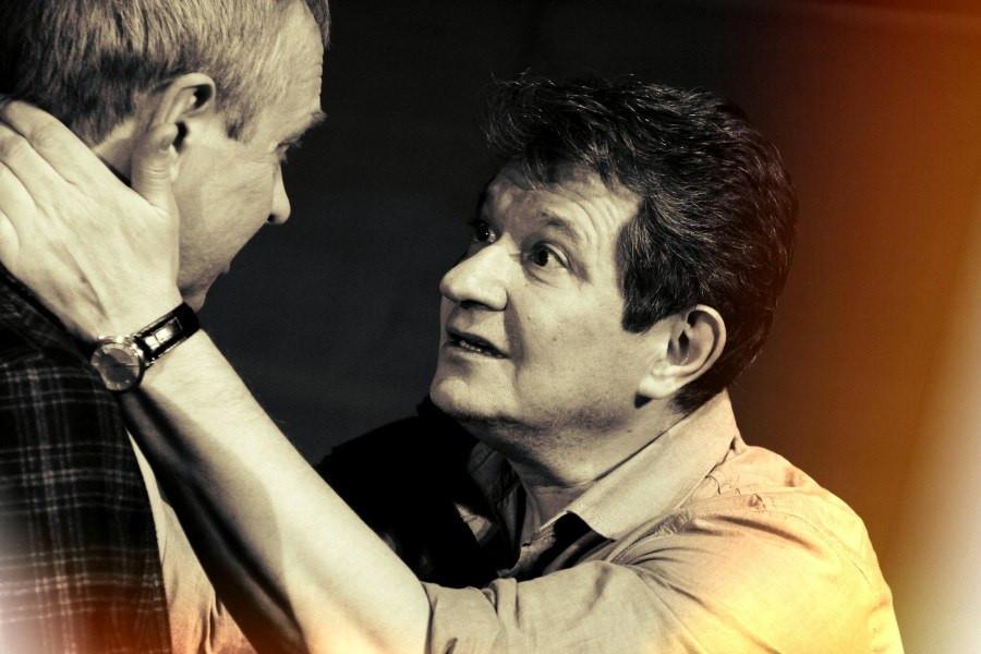 Андрей Ильин и Андрей Зарецкий в спектакле «Игры одиноких»