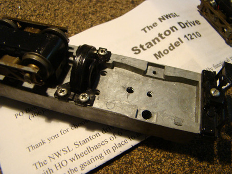 How to Re-Motor HO Scale Roundhouse Climax & Box Cab Locos
